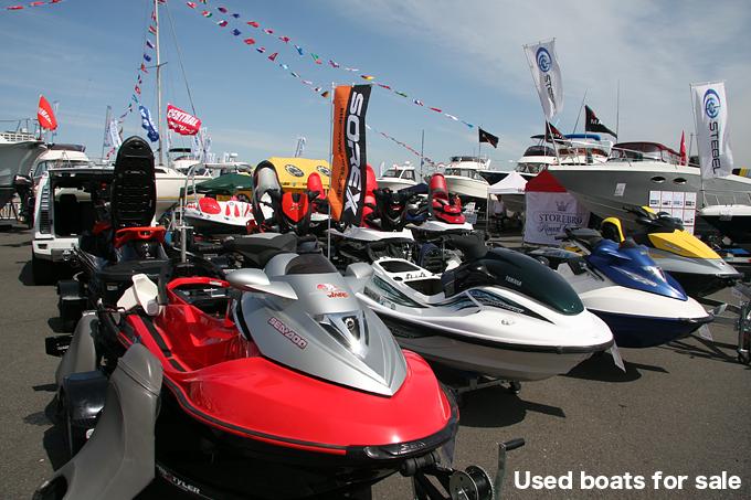 ボートショー2011 PWC Exhibition 中古・新型ジェットスキー マリン ...